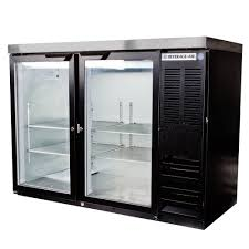 Stainless Steel Mini Fridge With Glass Door by Beverage Air Bb48hc 1 Fg B 27 48