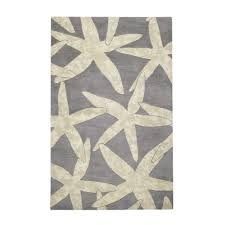 home decorators collection starfish grey 5 ft x 8 ft area rug