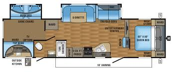 Airstream Travel Trailers Floor Plans by 2017 Eagle Ht Travel Trailer Floorplans U0026 Prices Jayco Inc