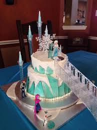 frozen castle cake i like the steps alot elyse would