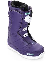 womens boots purple lashed boa purple womens snowboard boots