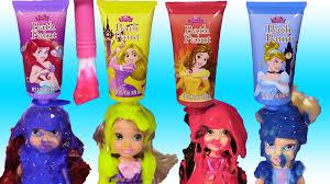 disney princess bath paint set mix colors paint princesses