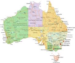australia map of cities large detailed map of queensland with cities and towns stunning