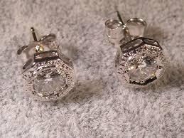 diamond stud earrings for women 1 carat diamond stud earrings and rich