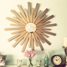 How To Make Home Decorations by Decorating How To Make Gold Sunburst Mirror For Inspiring Wall