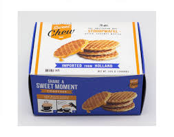 box cuisine stroopwafels mini box 20 pieces sweetchew stroopwafels