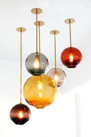 colored glass pendant light doteco co
