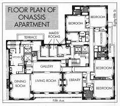 kennedy compound floor plan 1040 fifth avenue nyc jackie o s apt kennedy pinterest