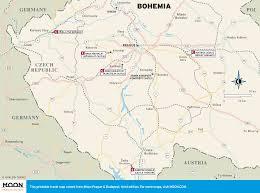 bohemia map printable travel maps of prague moon travel guides