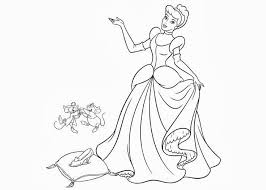 princess cinderella coloring pages gekimoe u2022 106606