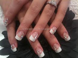 designs on white tip nails images nail art designs