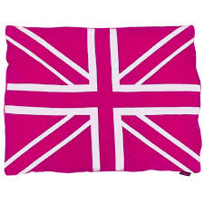 British Flag Pillow British Flag Dog Beds That Are A Must For Patriotic Pets