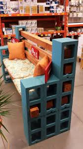 How To Make A Curved Bench Seat How To Make A Bench From Cinder Blocks 10 Amazing Ideas