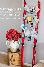 awesome diy ways to display your merry mail this christmas