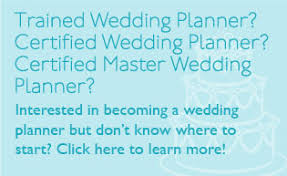 wedding planner certification course certification aacwp american association of certified wedding