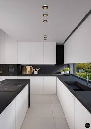 White And Black Kitchen Designs Black And White Kitchens Pictures Contemporary Beautiful