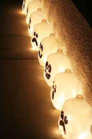diy decor fails craft save some jugs some spooky ghost lights