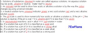 answers for qca based 7e acids and alkalis ks3 chemistry ks3