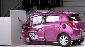 small car small cars selected crash tests automototv