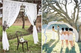 wedding arch lace white decoration for your wedding wedding in