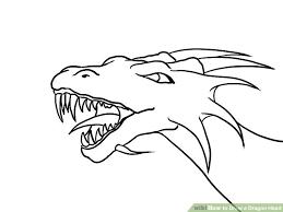 coloring nice draw adragon dragon symbol step 0
