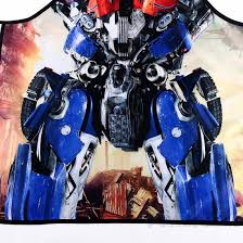 Personalized Kitchen Aprons Aprons Transformers Optimus Prime Kitchen Apron Movie Characters