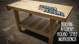 Build A Cheap End Table by Building A Cheap Roubo Style Workbench Youtube