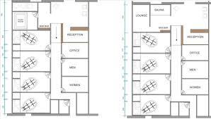 day spa floor plan layout designs and layouts plan on design chiropractic office plans u