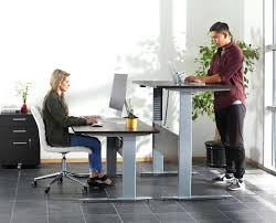 stand up sit down desk adjustable height adjustable desks claremont office interiors pertaining to up
