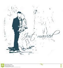 sketch wedding couple stock vector image of image elegant 34451675