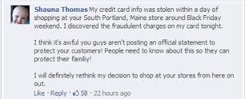 target black friday breach target u0027s credit card breach leads to customer service nightmare
