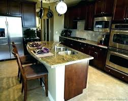 cherry mahogany kitchen cabinets refrigerator kitchen cabinets kitchen cabinet above refrigerator
