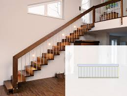 platzbedarf treppe grundriss geradläufige treppen