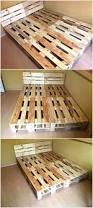 Pallet Bed Frame Plans Best 25 Pallet Bed Frames Ideas On Pinterest Pallet Platform