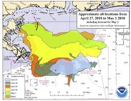 Map Of Gulf Of Mexico Expert Surface Area Of Gulf Of Mexico Oil Spill Has Tripled Al Com