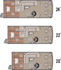 Pontoon Boat Floor Plans by 2014 Vista Fish Tahoe Pontoon Boats