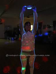 Kids Light Halloween Costume Halloween Costume Light Tron