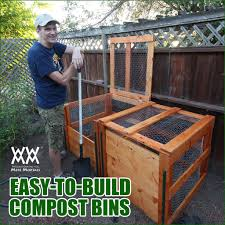 garden compost bin home outdoor decoration