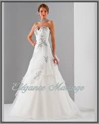 robe de mariã e grise et blanche robes de mariée à dax et à mont de marsan landes