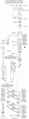 price pfister kitchen faucet replacement parts price pfister kitchen faucet b125 for existing