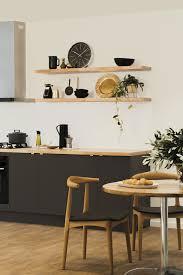 minimalist chic kitchen design kaboodle kitchen