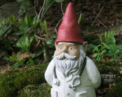 Statue For Garden Decor Gnome Statue Gnome Relaxing In The Garden Cement Garden
