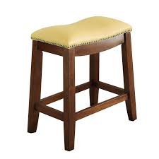 Linon Home Decor Bar Stools Linon Claridge Patches Backless 24 In Counter Height Stool