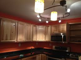 Red Backsplash Kitchen Kitchen Lighting Track In Globe Black Mission Shaker Fabric Orange