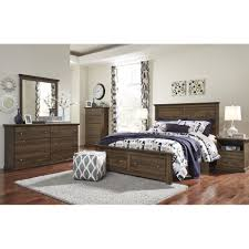 Traditional Pc Bedroom Sets Houston Queen Storage Panel Bed - Bedroom sets houston