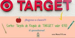 lista de venta de black friday target regreso a clases con target sorteo