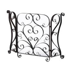 ideas u0026 tips haverhill 3 panel fireplace screens for fireplace