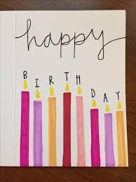 home made birthday cards best 25 diy birthday cards ideas on