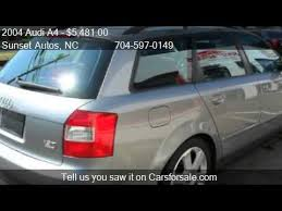 2004 audi a4 wagon for sale 2004 audi a4 1 8t avant quattro awd 4dr wagon for sale in ch