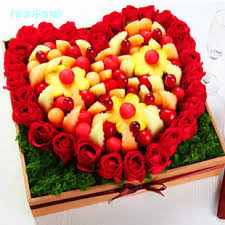send fruit bouquet fruit of the garden s day to send his a fruit